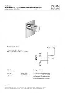 36416780 xTOOL UP-Thermostat ohne Mengenregulierung