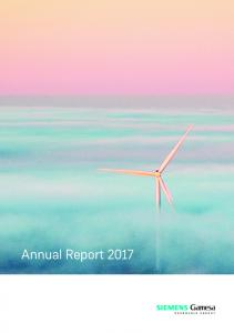 Annual Report 2017 - Siemens Gamesa