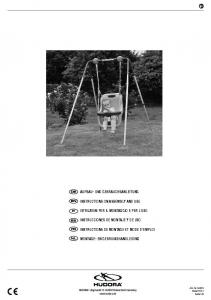 aufbau- und gebrauchsanleitung instructions on assembly and use ...
