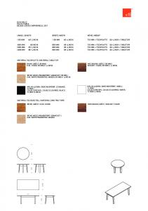 Basis Table by e15 Furniture   Haute Living