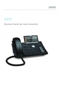 Business-Telefon der neuen Generation