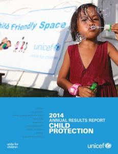 Child Protection - Unicef