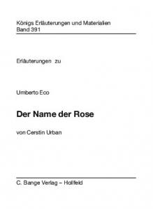 Der Name der Rose - Buch.de