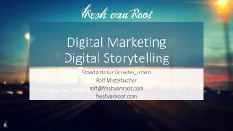 Digital Marketing Digital Storytelling - Fresh van Root