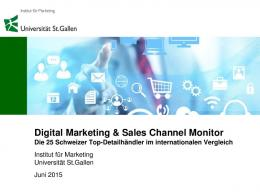 Digital Marketing & Sales Channel Monitor - WordPress.com