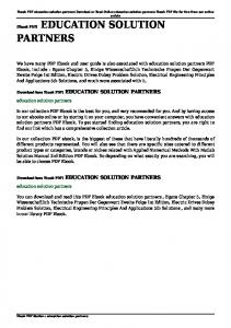 education solution partners pdf