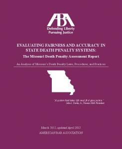 evaluating fairness and accuracy in state death penalty systems