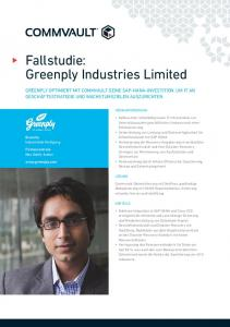 Fallstudie: Greenply Industries Limited