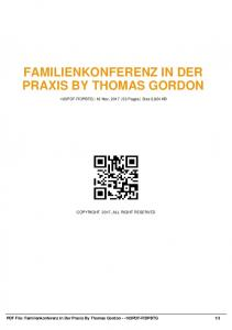 familienkonferenz in der praxis by thomas gordon ...  AWS