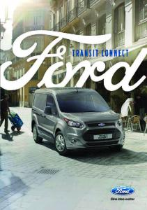 Ford Transit Connect Broschüre (PDF 5MB)