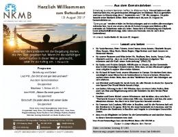 German Bulletin 2017 08 13.pub