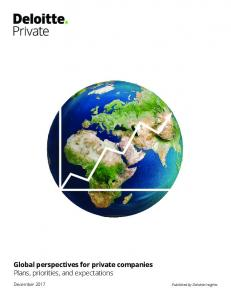 Global perspectives for private companies - Deloitte