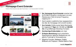 Homepage Event Extender