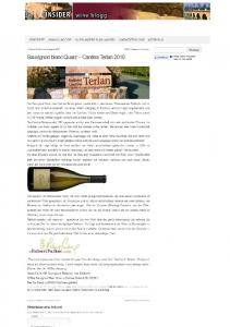 Insider wine blogg