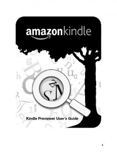 Installation von Kindle Previewer mit Windows