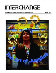 Journal of the Oregon Association of School Libraries Winter 2015