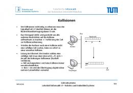 Kollisionen - Robotics and Embedded Systems