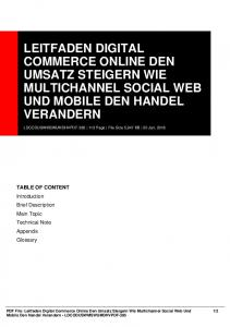 leitfaden digital commerce online den umsatz ...  AWS