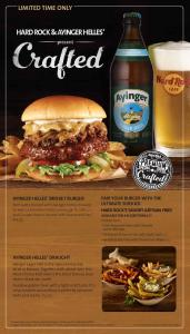 limited time only - Hard Rock Cafe