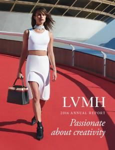 LVMH 2016 annual report