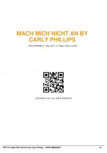 mach mich nicht an by carly phillips -70pdf-mmnabcp  AWS