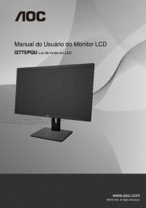 Manual do Usuário do Monitor LCD