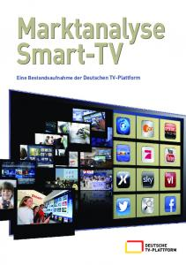 Marktanalyse Smart-TV - Deutsche TV-Plattform
