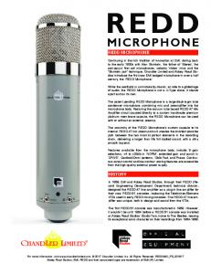 microphone - Chandler Limited