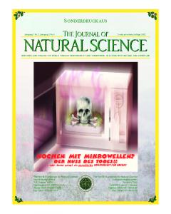 Microwave Offprint German.pmd - The World Foundation for Natural