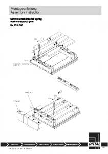 Montageanleitung Assembly instruction