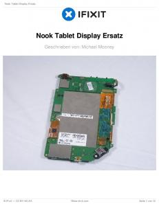 Nook Tablet Display Ersatz