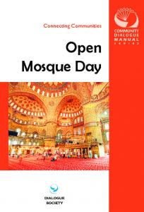 Open Mosque Day - Dialogue Society