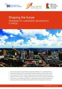 Shaping the future: strategies for sustainable
