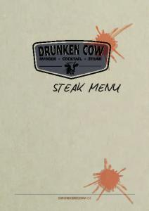 STEAK MENU