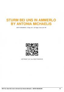 sturm bei uns in ammerlo by antonia michaelis  AWS