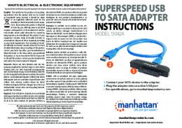 superspeed usb to sata adapter instructions - gzhls.at