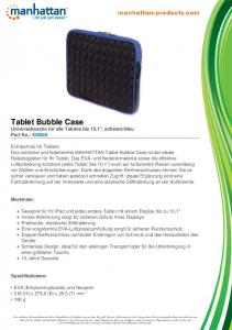 Tablet Bubble Case - Manhattan Products