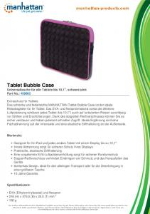 Tablet Bubble Case