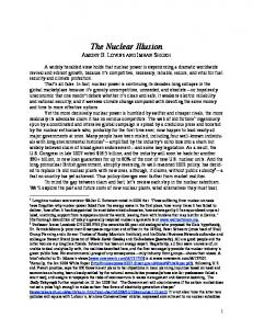 The Nuclear Illusion - cloudfront.net