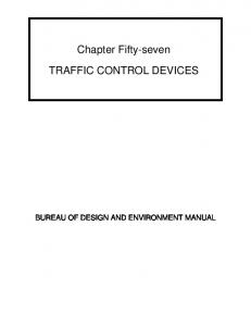 Traffic Control Devices - Illinois Department of Transportation