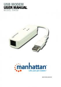 usb modem user manual