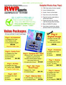 Value Packages Sports - Sports Photography and Portraits ...