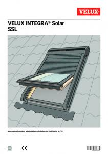 VELUX INTEGRA® Solar SSL - VELUX We Share