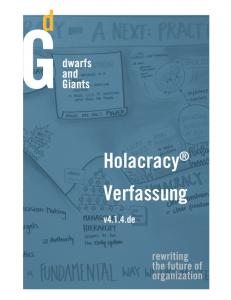 We share Holacracy® Verfassung V4.1.4 - Dwarfs and Giants