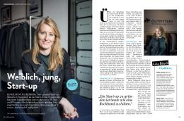 Weiblich, jung, Start-up - IamBeauty