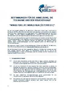 wings for life world run [österreich]