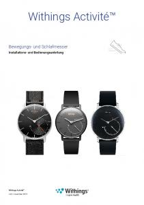 Withings Activité - Support